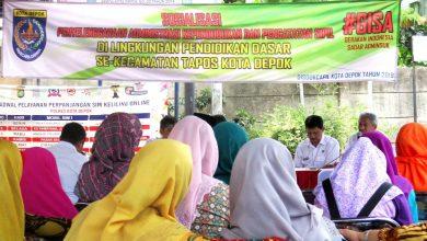 Photo of DISDUKCAPIL Kota Depok Gelar Sosialisasi Program Pemerintah Di Tapos