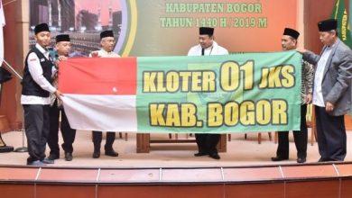 Photo of Calon Jamaah Haji Kloter 01 Di Lepas Sekda Kabupaten Bogor