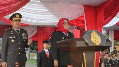 Photo of Upacara Peringatan HUT Bhayangkara Ke-73 Digelar di Pemkab Bogor