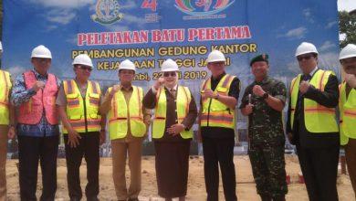 Photo of HUT Adhiyaksa Disertai Peletakan Batu Pertama Oleh Pejabat Jambi