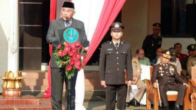 Photo of Walikota Depok Hadiri Upacara HUT Bhayangkara 73 Di Mapolresta Depok