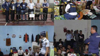 Photo of Antisipasi Peredaran Narkoba, Rumah Tahanan Kelas llB Kota Depok Lakukan Sidak