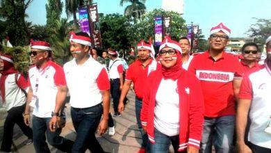 Photo of Bupati Bogor Pimpin  Kirab Bendera Merah Putih