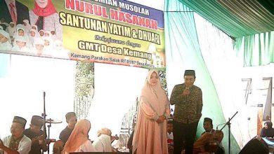 Photo of Calon Kades Kemang Berikan Santunan Anak Yatim Dan Resmikan Mushola Nurul Hasanah