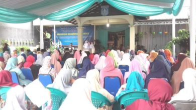 Photo of Maulid Nabi Muhammad SAW, Lurah Depok Berikan Santunan Yatim