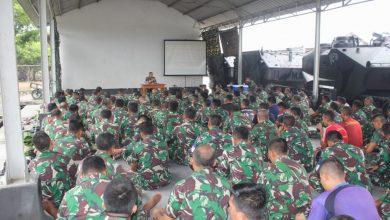 Photo of Jam Komandan, Sebagai Sarana Komunikasi Langsung Antara Prajurit dan Komandan YONRANRATFIB 2 MAR