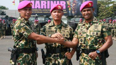 Photo of Letkol Marinir Victor Penpada Resmi Jabat Danyon KAPA 1 MARINIR