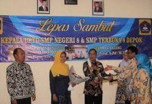Photo of Lepas Sambut Kepala UPTD SMP Negeri 8 dan SMP Terbuka 8 Depok, Tangguh Sebagai Pemimpin