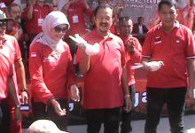 Photo of Naik Reog di Plaza Manahan Purnomo & Teguh Didukung Relawan AMPUH