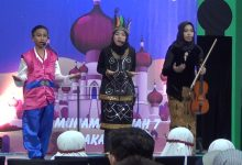 "Photo of Aksi Pelajar SMP Muh 7 Surakarta "" English Performance Of Global Class """