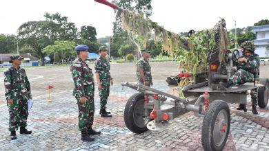 Photo of Prajurit Yonmarhanlan IX Laksanakan Uji Petik dan Uji Nilai Latihan P1 DAN P2